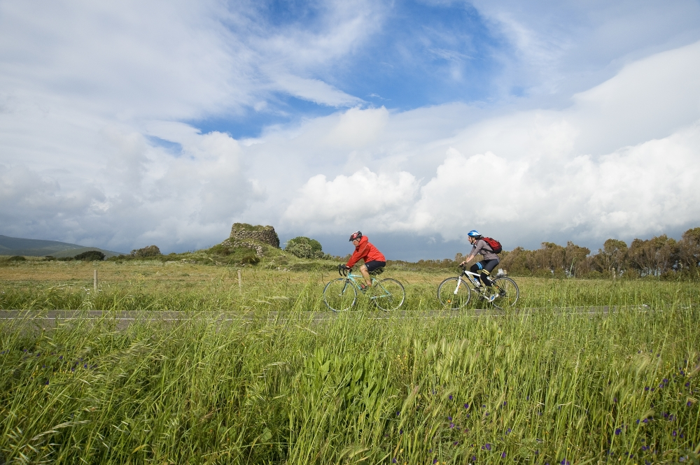 Cycling holiday Sardinia: a Nuraghe in a photo by Enrico Spanu