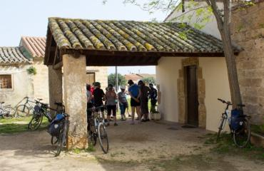 Day bike tours: stop in San Salvatore