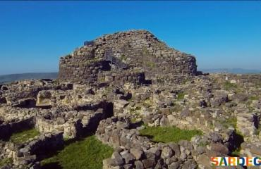 The huge Nuraghe of Barumini