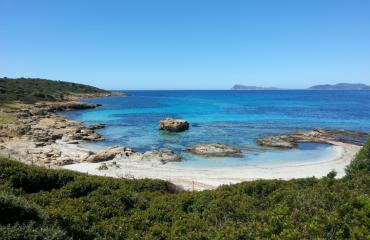 Bike trip Sardinia: final leg, turquoise waters in the Costa del Sud