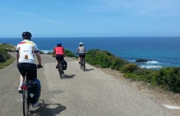 Bike trip Sardinia: second leg, along the Costa Verde