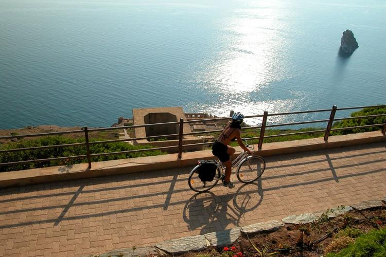 Cycling tour Sardinia: Nebida, panoramic promenade