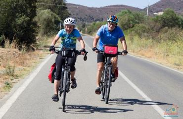 Sardinia Cycling A couple of cycling travellers