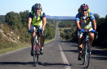 Road cycling Sardinia: on the way to La Caletta