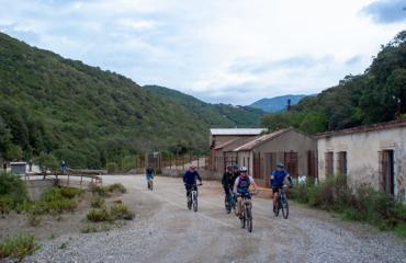 In MTB in the mountains of southern Sardinia