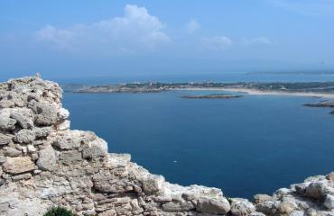Hiking Sardinia: day 3, view over Su Pallosu