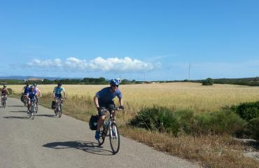 Cycling tour Sardinia: cycling in the Sardinian country side