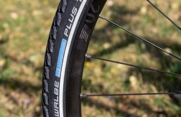 Trekking step-through frame Tyres: Schwalbe Marathon Plus, antipuncture