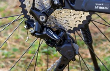 E-Bike Rear derailleur: Shimano Deore, 10 speed